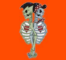 Psychobilly couple Kids Clothes