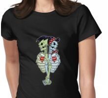 Psychobilly couple Womens Fitted T-Shirt