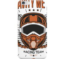 Downhill Gravity Freeride MTB Bike (Racing Edition) iPhone Case/Skin
