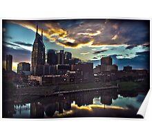 Nashville Skyline Poster
