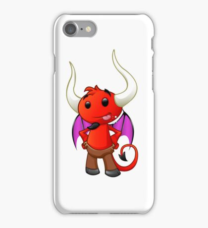 Devil Character - #3 iPhone Case/Skin