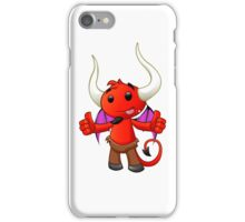 Devil Character - #4 iPhone Case/Skin