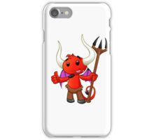 Devil Character - #5 iPhone Case/Skin