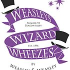 Weasleys' Wizard Wheezes by thegadzooks