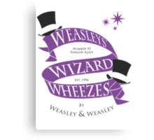 Weasleys' Wizard Wheezes Canvas Print
