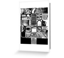 Urban Alphabet Greeting Card