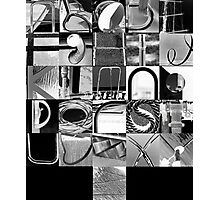 Urban Alphabet Photographic Print