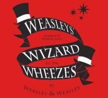 Weasleys' Wizard Wheezes (B&W) One Piece - Short Sleeve