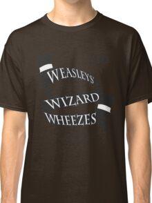 Weasleys' Wizard Wheezes (B&W) Classic T-Shirt