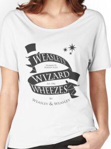 Weasleys' Wizard Wheezes (B&W) Women's Relaxed Fit T-Shirt