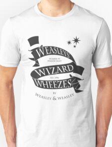 Weasleys' Wizard Wheezes (B&W) Unisex T-Shirt