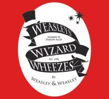 Weasleys' Wizard Wheezes (White BG) Kids Tee
