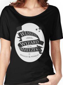 Weasleys' Wizard Wheezes (White BG) Women's Relaxed Fit T-Shirt