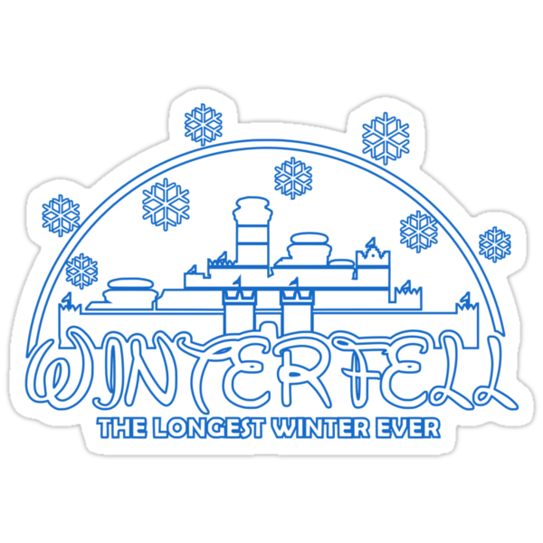 Winterfell (sticker) by karlangas