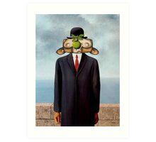 The Son of Monkey Card Art Print
