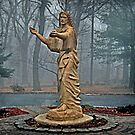 Statue of Jesus at Salvatorian Monastery by Jane Neill-Hancock