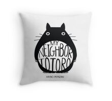 Totoro Hayao Throw Pillow