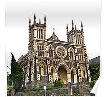 St Joseph's Cathedral, Dunedin, New Zealand Poster