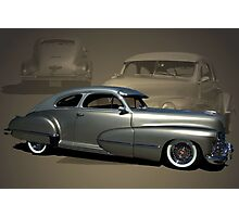 1947 Cadillac with 2002 Northstar V-8 engine Photographic Print