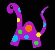 Party Dino by OneBlackSheep