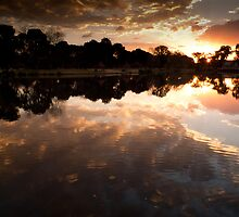 Water Front Reflection by Pieter Bruwer