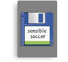 Sensible Soccer Retro MS-DOS/Commodore Amiga games Canvas Print