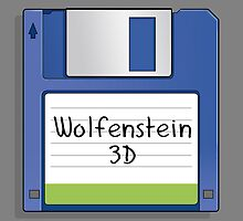 Wolfenstein 3D Retro MS-DOS/Commodore Amiga games by Creative Spectator