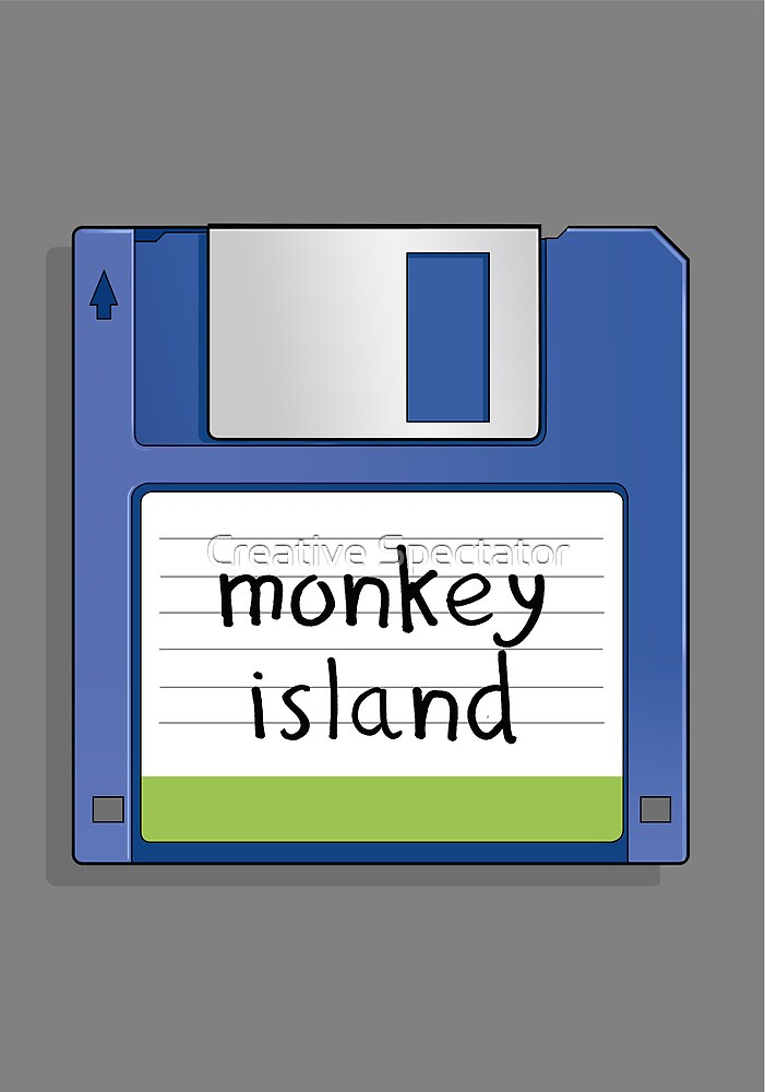 Monkey Island Retro MS-DOS/Commodore Amiga games by Creative Spectator