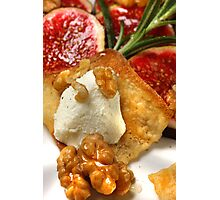 Strudel With Goat Cheese Mousse II Photographic Print