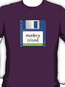 Monkey Island Retro MS-DOS/Commodore Amiga games T-Shirt