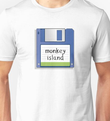 Monkey Island Retro MS-DOS/Commodore Amiga games T-Shirt
