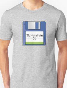 Wolfenstein 3D Retro MS-DOS/Commodore Amiga games Unisex T-Shirt