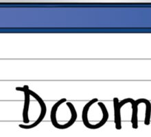 Doom Retro MS-DOS/Commodore Amiga games Sticker
