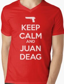 CSGO - Keep Calm And Juan Deag Mens V-Neck T-Shirt