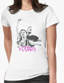 #dorks  Womens Fitted T-Shirt