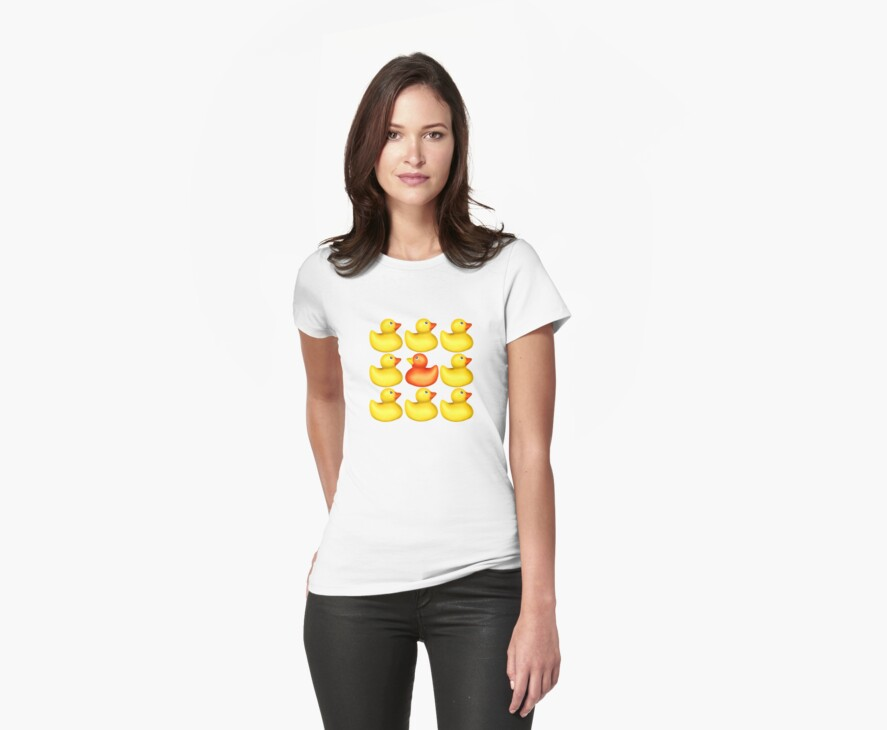 Hello Ducky! - T Shirt by BlueShift