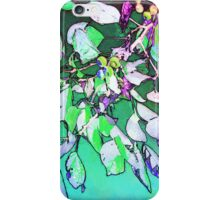 Turquoise Illumination iPhone Case/Skin