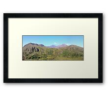 Snowdon Panoramic Framed Print