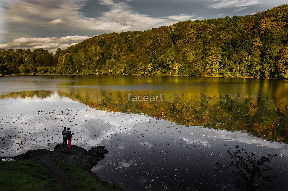 Young fishermen by faceart