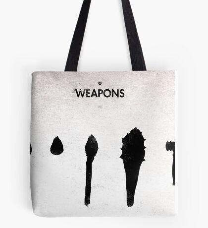 99 Steps of Progress - Weapons Tote Bag