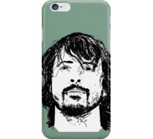 Dave Grohl Portrait - Hand Drawn - Foo Fighters iPhone Case/Skin