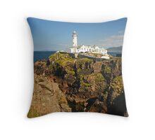 Fanad Lighthouse Throw Pillow