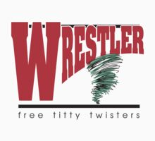 Wrestler by SportsT-Shirts