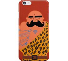 Muscle man. iPhone Case/Skin