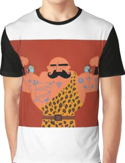 Muscle man. Graphic T-Shirt