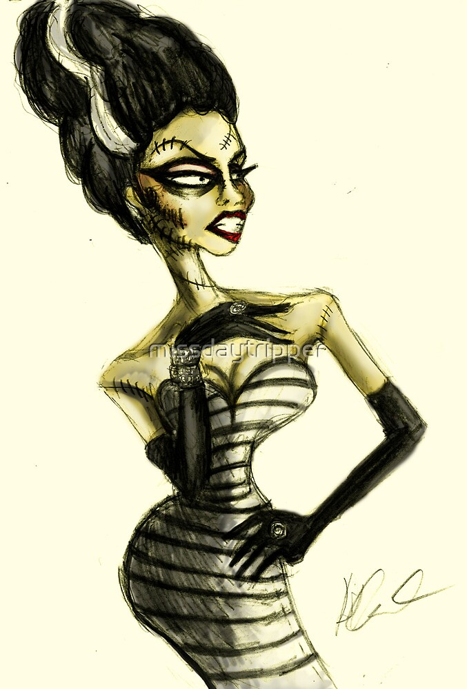 The Drag Bride of Frankenstein by missdaytripper