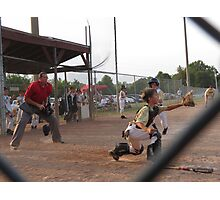 Play at the Plate Photographic Print