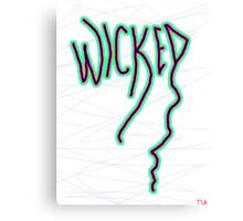 Wicked New England slang  Canvas Print