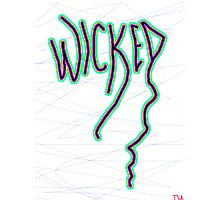 Wicked New England slang  Photographic Print