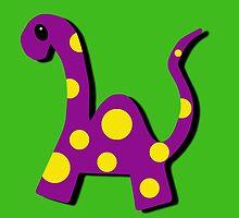 Herman the Dinosaur by OneBlackSheep